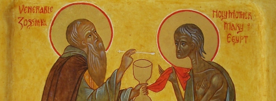 Sts. Zossima and Mary of Egypt